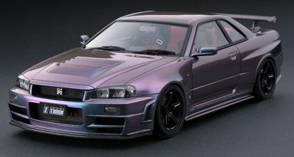 1/43 Nismo R34 GT-R Z-tune Midnight Purple III[イグニッションモデル]《12月予約※暫定》