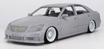 1/18 Toyota Crown (GRS180) 3.5 Athlete Black(18インチノーマルホイール)[イグニッションモデル]【送料無料】《03月予約※暫定》
