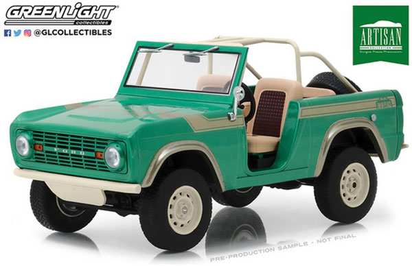 """1/18 Artisan Collection - 1976 Ford Bronco """"Twin Peaks"""" (as seen on Gas Monkey Garage)[グリーンライト]《09月仮予約》"""