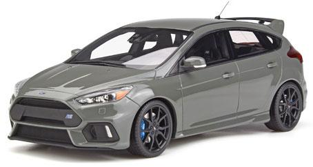 1/18 フォード フォーカス RS 2017(グレー)[OttO mobile]《発売済・在庫品》
