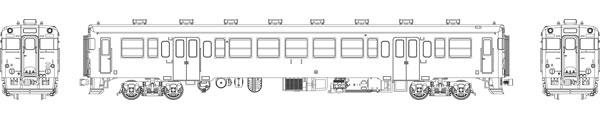 TW-23Z-M 国鉄キハ23首都圏色動力付[トラムウェイ]【送料無料】《発売済・在庫品》
