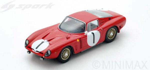 1/18 Iso Rivolta No.1 Le Mans 1964[スパーク]《12月仮予約》