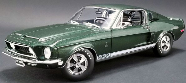 1/18 1968 SHELBY MUSTANG GT350H RENT-A-RACER DARK GREEN[ACME]【送料無料】《11月仮予約》