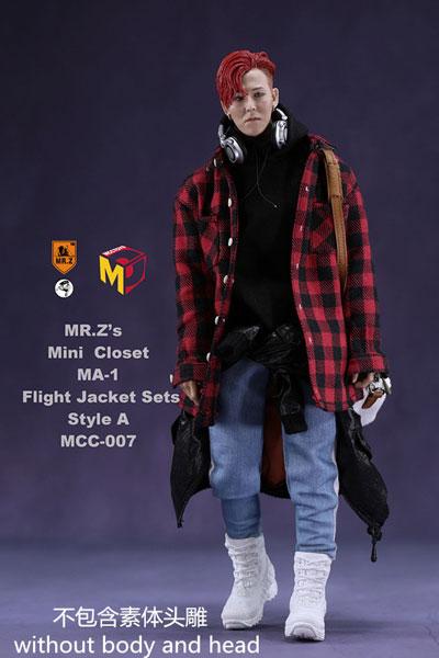 1/6 男性用 MA-1 フライトジャケット セット スタイル A (ドール用)[MR.Z/MCCトイズ]《09月仮予約》