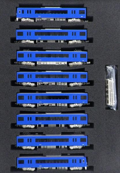 30661 京急2100形(更新車・KEIKYU BLUE SKY TRAIN・マークなし) 8両編成セット(動力付き) 完成品[グリーンマックス]【送料無料】《取り寄せ※暫定》