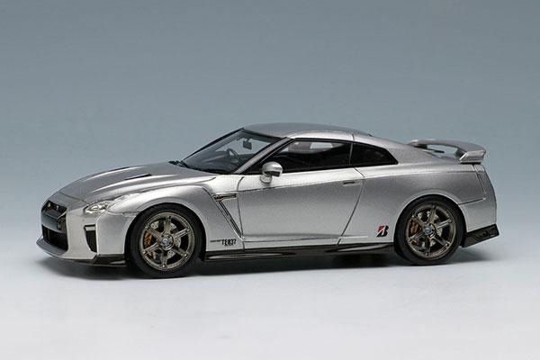 1/43 日産 GT-R 2017 TE037 wheel Ver. アルティメイトメタルシルバー[メイクアップ]【送料無料】《10月予約※暫定》