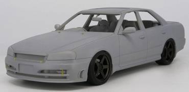 1/18 日産 スカイライン 25GT Turbo (ER34) Black[イグニッションモデル]【送料無料】《01月予約※暫定》