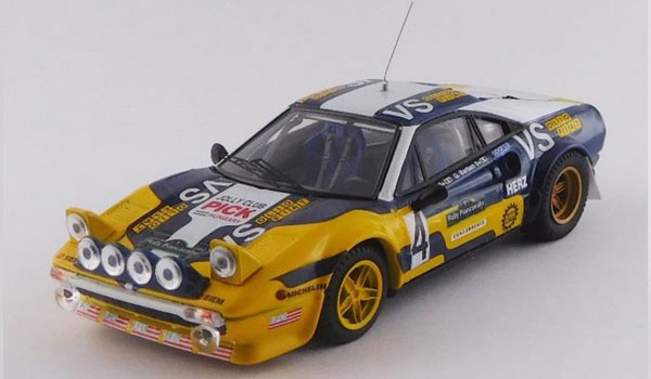 """ファッション 1/43 フェラーリ ラリー 308 フェラーリ GTB Gr.4 Gr.4 ピアンカヴァッロ ラリー 1980#4 """"Nico""""/Barban 優勝車[ベストモデル]《08月予約※暫定》, 森山町:5f491ed2 --- canoncity.azurewebsites.net"""