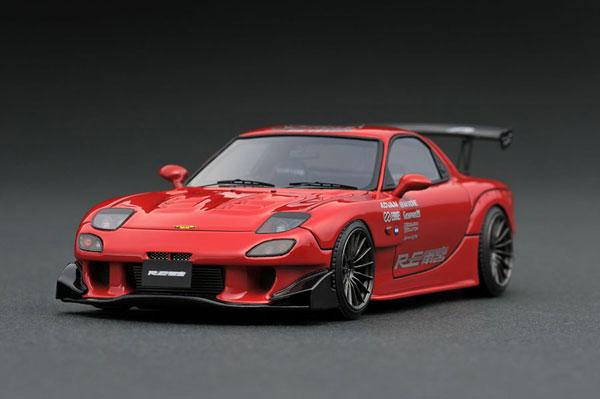 1/43 マツダ RX-7 (FD3S) RE Amemiya Red[イグニッションモデル]【送料無料】《取り寄せ※暫定》