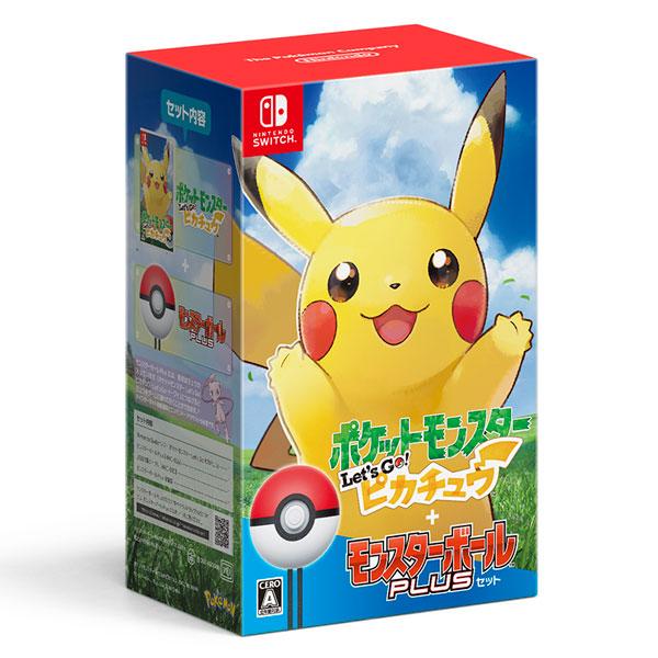 ポケットモンスター Switch Nintendo モンスターボール Let's Go! ピカチュウ Plusセット[ポケモン]【送料無料】《11月予約》