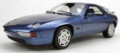 1/18 ポルシェ 928 S4 1987(ブルーメタリック)[TOPMARQUES]【送料無料】《取り寄せ※暫定》