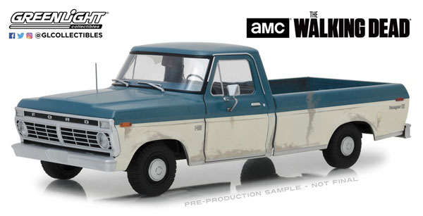 1/18 The Walking Dead (2010-15 TV Series) - 1973 Ford F-100[グリーンライト]《10月仮予約》