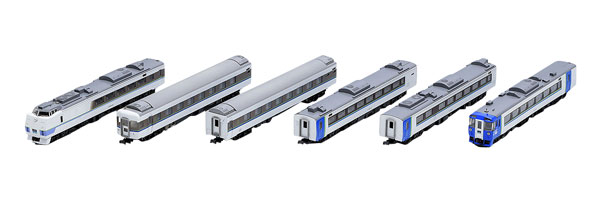 98641 JR キハ183系特急ディーゼルカー(まりも)セットB(6両)[TOMIX]【送料無料】《発売済・在庫品》