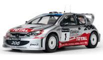 1/18 プジョー 206 WRC 2002 R.Burns / R.Reid[サンスター]《08月仮予約》
