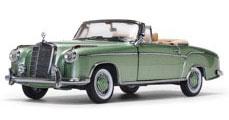 1/18 メルセデス・ベンツ 220 SE オープン コンバーチブル 1958 ライトグリーン[サンスター]《取り寄せ※暫定》