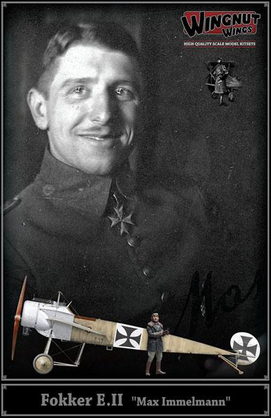 1/32 フォッカー E.II 「マックス・インメルマン」 プラモデル[ウィングナット・ウィングス]《取り寄せ※暫定》