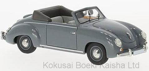 1/43 VW Dannenhauer and Stauss コンバーチブル 1951 グレー[ネオ]《10月仮予約》