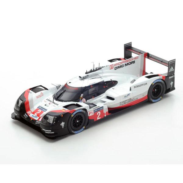 1/18 ポルシェ 919 Hybrid No.2 Winner Le Mans 2017 Porsche LMP Team T. Bernhard - E. Bamber - B. Hartley(再販)[スパーク]《11月仮予約》