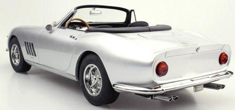 1/12 275 GTB/4 NART スパイダー 1967(シルバー)[TOPMARQUES]【送料無料】《12月仮予約》