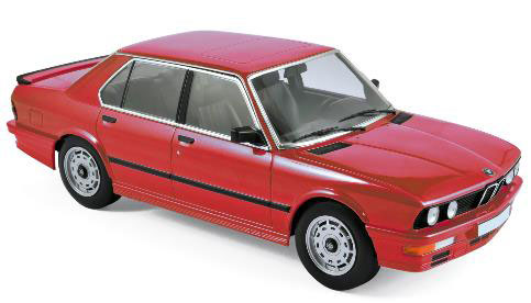 1/18 BMW M535i 1986 レッド[ノレブ]《12月仮予約》