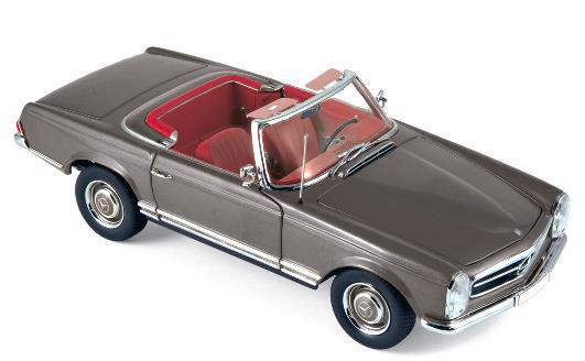 1/18 メルセデス・ベンツ 230 SL 1963 メタリックアントラシート[ノレブ]《01月仮予約》