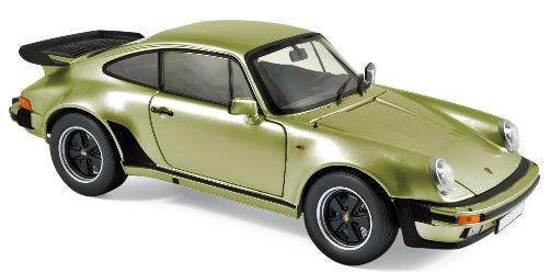 1/18 ポルシェ 911 ターボ 1978 メタリックシルバーグリーン[ノレブ]《02月仮予約》