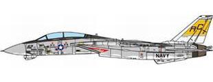 1/72 F-14B アメリカ海軍 VF-32 スウォーズメン USS ハリー・S・トルーマン 2005[JCW]《08月仮予約》