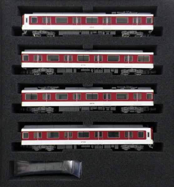 30258 近鉄2610系連続キセ(冷房車)B更新車 4両編成セット(動力付き) 完成品[グリーンマックス]【送料無料】《12月予約》