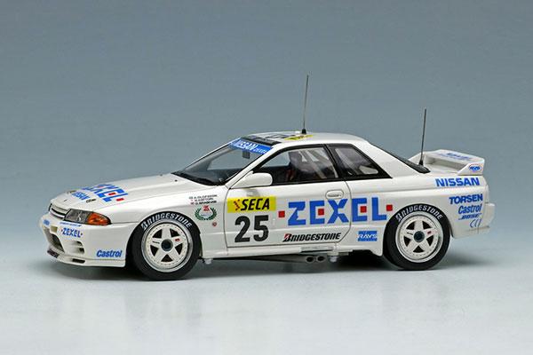 1/43 日産 スカイライン GT-R (BNR32) Gr.A チームゼクセル スパ24時間 1991 Winner[メイクアップ]【送料無料】《11月予約※暫定》