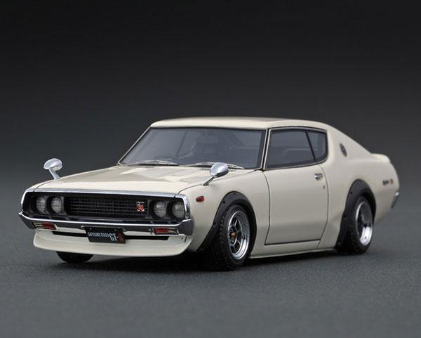 1/43 Nissan Skyline 2000 GT-R (KPGC110) White[イグニッションモデル]《01月予約》