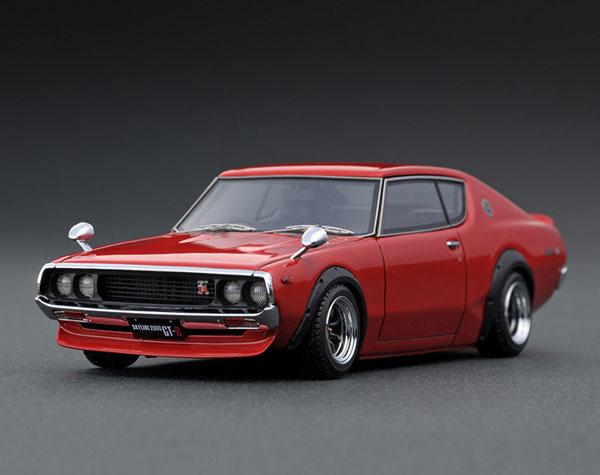 1/43 Nissan Skyline 2000 GT-R (KPGC110) Red[イグニッションモデル]《01月予約※暫定》