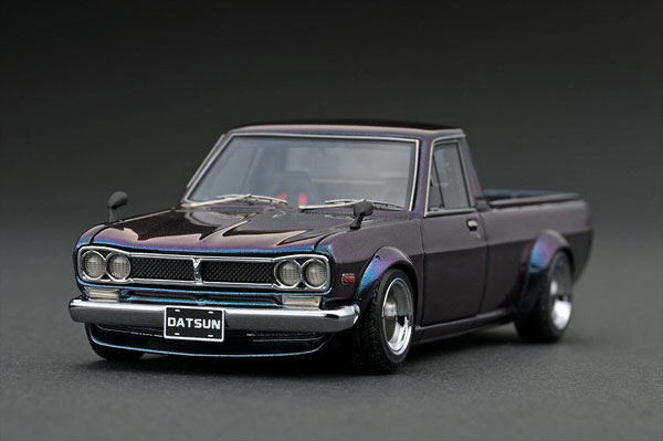1/43 Nissan Hakotora Long Metallic Purple/Green[イグニッションモデル]《発売済・在庫品》