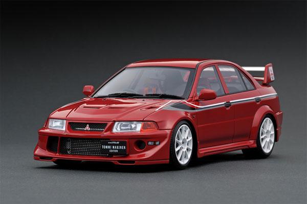 1/18 Mitsubishi Lancer Evolution VI GSR T.M.E (CP9A) Red[イグニッションモデル]【送料無料】《04月予約》