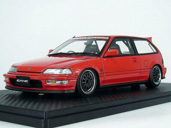 1/18 Honda CIVIC (EF9) SiR Red[イグニッションモデル]【送料無料】《02月予約》