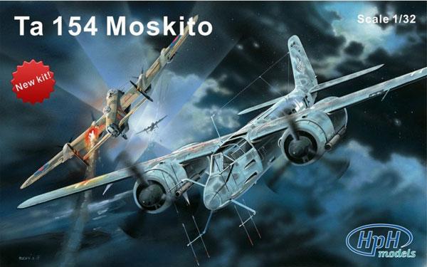 1/32 フォッケウルフ Ta154 モスキート レジンキット[HPH models]【送料無料】《在庫切れ》