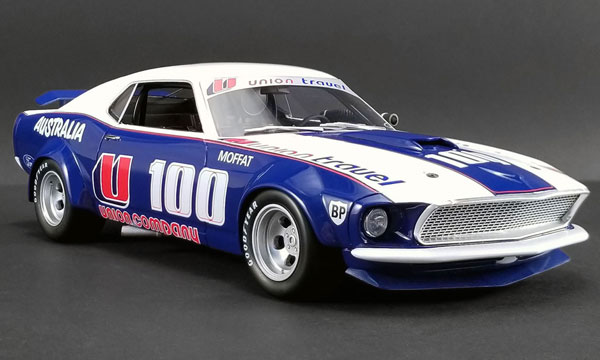 "1/18 Real Art Replicas Am U100 1969 Ford Mustang Boss 302 Trans Am""U100""Allan Moffat Limited Edition[ACME]【送料無料】《01月仮予約》"