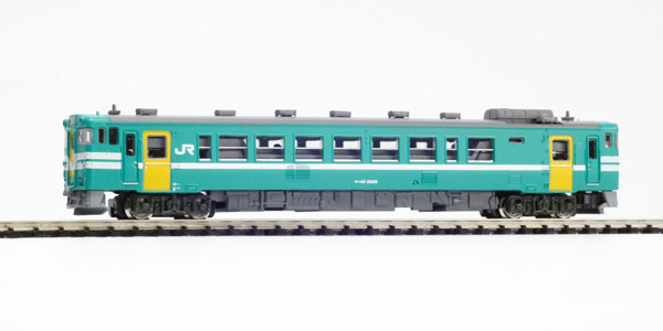 Z40-07M Zゲージ・キハ40 2000番代 加古川線ワンマン色 動力つき 完成品[プラッツ]《取り寄せ※暫定》