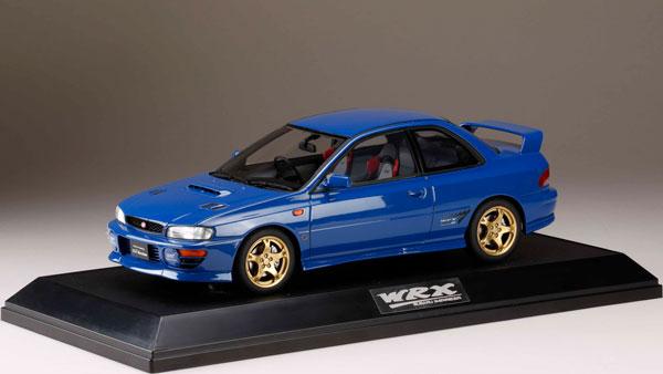 1/18 スバルインプレッサ WRX type R STi Version IV V-Limited (GC8) 1998 ソニックブルーマイカ[ホビージャパン]【送料無料】《06月予約》