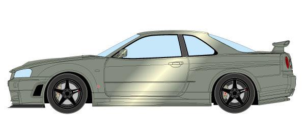 1/43 ニスモ R34 GT-R Z-tune ミレニアムジェイド[メイクアップ]【送料無料】《12月予約※暫定》