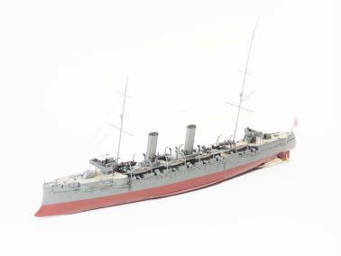 1/500 レジン&メタルキット 2等巡洋艦 千歳 CHITOSE[フォーサイト]《取り寄せ※暫定》