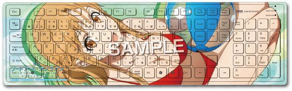 『劇場版 ソードアート・オンライン -オーディナル・スケール-』キーボード「アスナ」[サーファーズパラダイス]《発売済・在庫品》