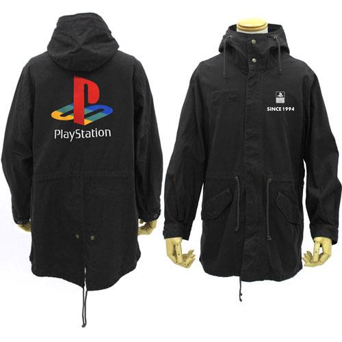 """プレイステーション M-51ジャケット 初代""""PlayStation""""/BLACK-L(再販)[コスパ]【送料無料】《06月予約》"""