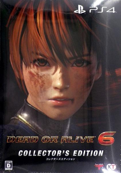 (箱破損特価新品)【特典】PS4 DEAD OR ALIVE 6 コレクターズエディション[コーエーテクモゲームス]《発売済・在庫品》