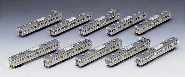 98999 限定品 JR 103 1000系通勤電車(三鷹電車区・黄色帯)セット(10両)[TOMIX]【送料無料】《取り寄せ※暫定》