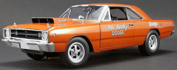 1968 Dart Max Hurley's Dodge[ACME]【送料無料】《01月仮予約》 1/18 HEMI - Dodge