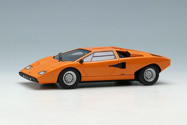 1/43 ランボルギーニ カウンタック LP400 1974 オレンジ[メイクアップ]【送料無料】《12月予約※暫定》