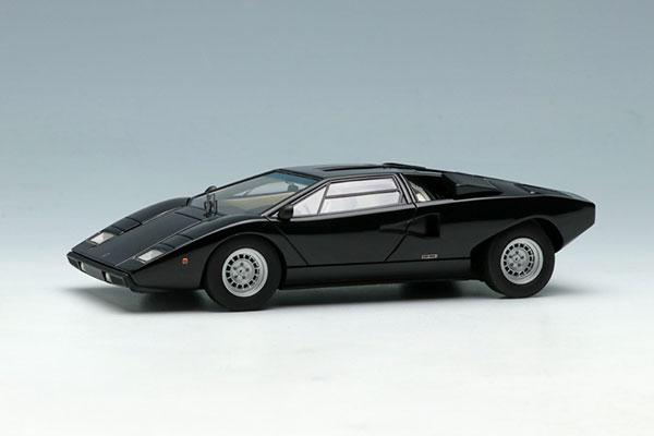 1/43 ランボルギーニ カウンタック LP400 1974 ブラック[メイクアップ]【送料無料】《発売済・在庫品》