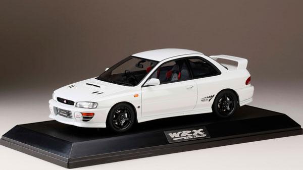 1/18 スバル インプレッサWRX type R STi Ver.1997(GC8) フェザーホワイト[ホビージャパン]【送料無料】《03月予約※暫定》