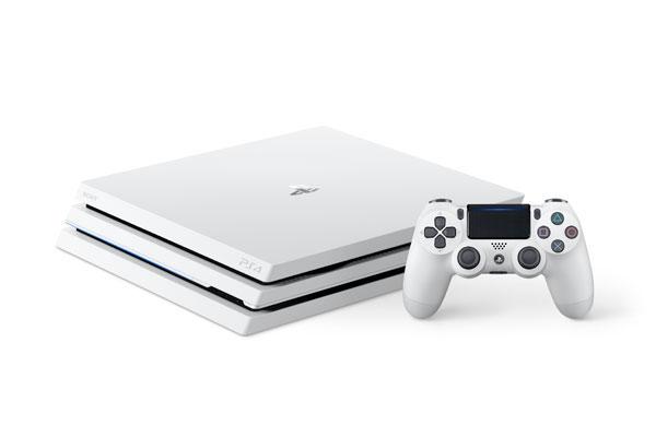 PlayStation 4 Pro グレイシャー・ホワイト 1TB[SIE]【送料無料】《発売済・在庫品》