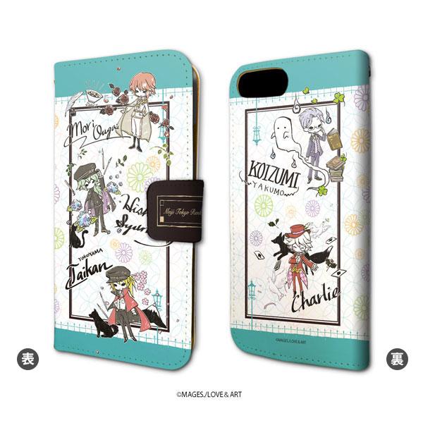 a4570c487d 楽天市場】手帳型スマホケース(iPhone6/6s/7/8兼用)「明治東亰恋伽 ...